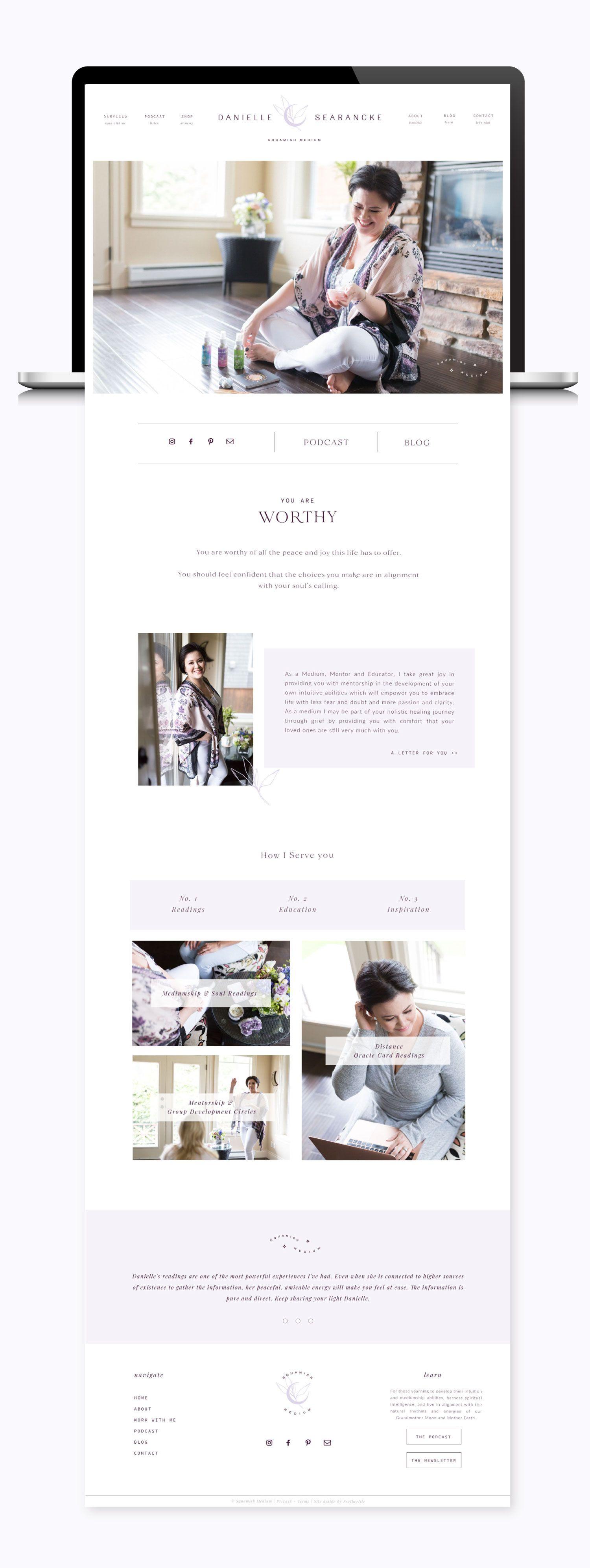 Squamish Medium Featherlite Designs In 2020 Elegant Website Design Shopify Website Design Wordpress Website Design
