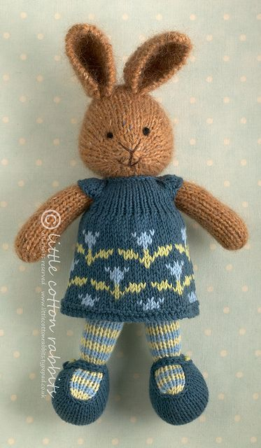 Clarise Crocheting Amp Knitting Little Cotton Rabbits
