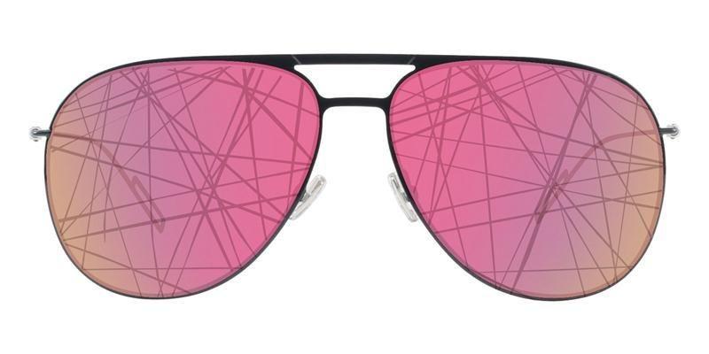 16e833a1bc Dior Homme 0205S Black   Pink Lens Mirror Sunglasses