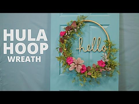 Diy floral hula hoop wreath hgtv birthday ideas for Hula hoop decorations