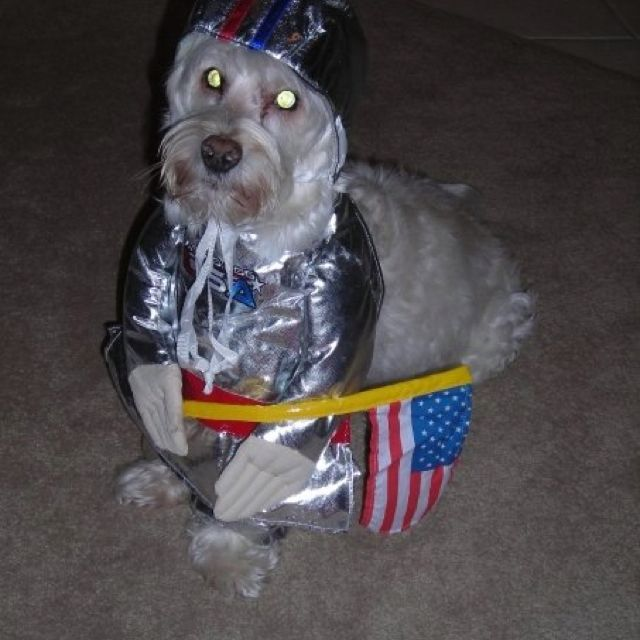 Tobie, our little astronaut