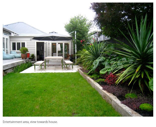 Backyard landscaping ideas nz google search the for Small garden designs nz