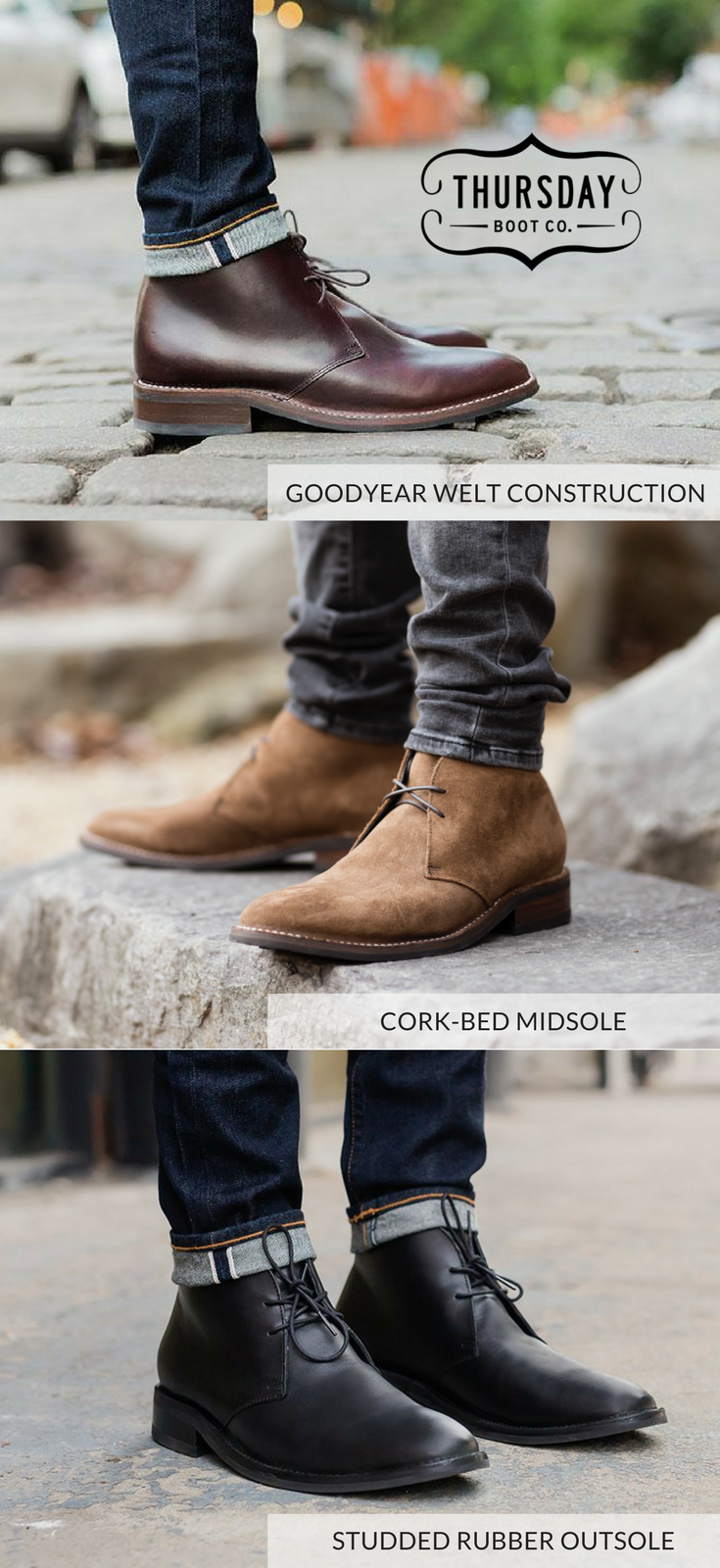 The Scout Chukka from Thursday Boot Company. Handcrafted with the highest  quality materials.  ThursdayBoots 752fd3c78e