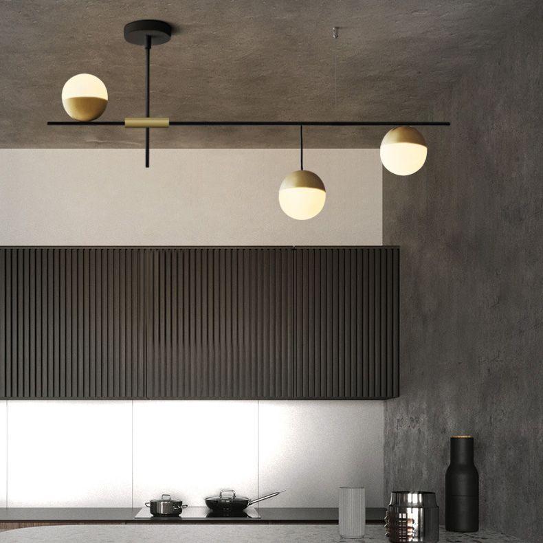 Mid Century Modern 3 Light Liner