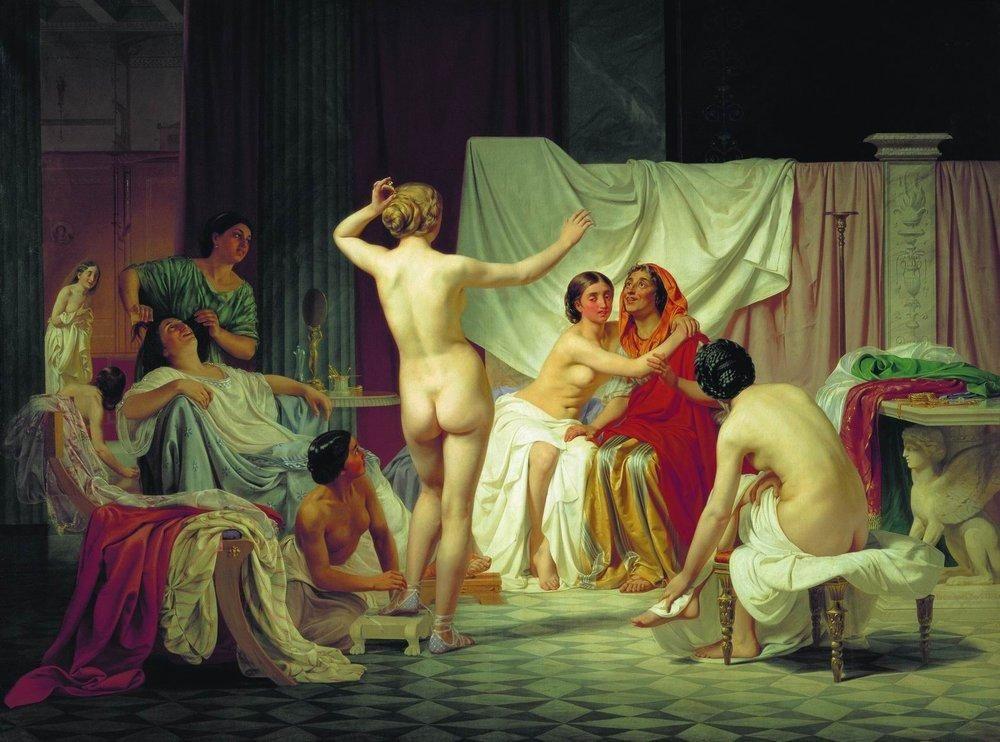 уникальные художники сексуальных сцен вофисе, что