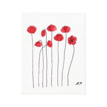 #flower - #Petite Fleur Canvas Print