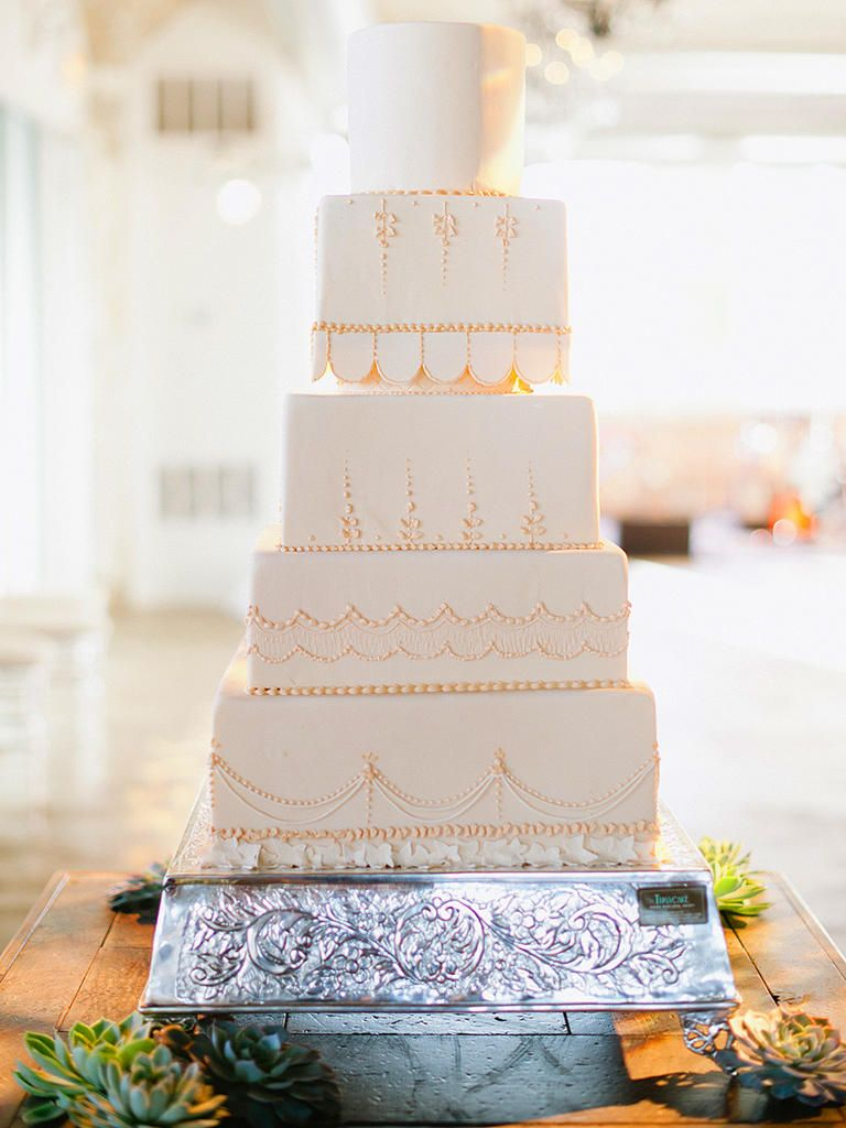 wedding cake ideas with silver and gold bling wedding cake and