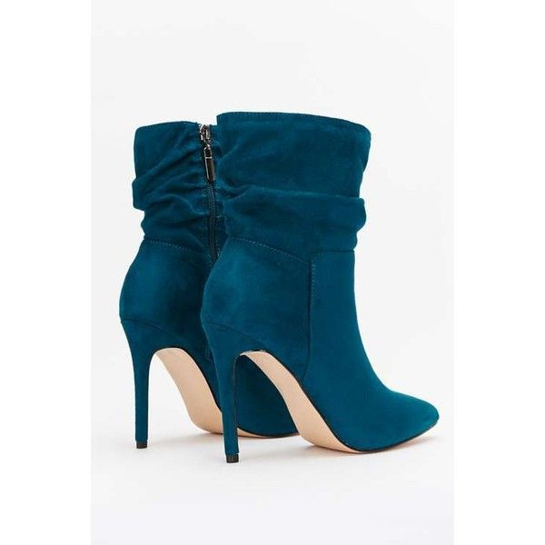 2285177244d5 Teal Ankle Boot - Wallis ❤ liked on Polyvore featuring shoes