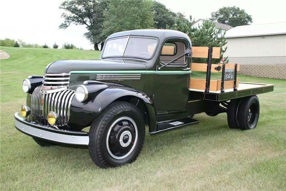 Pin by Paul Hamm on 1945 chevy truck   Pinterest   Chevy vans, Flat ...
