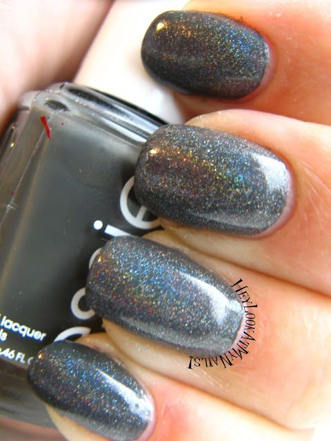 Dark Gray Holo - Hey Look At My Nails! | Nailed It! | Pinterest ...
