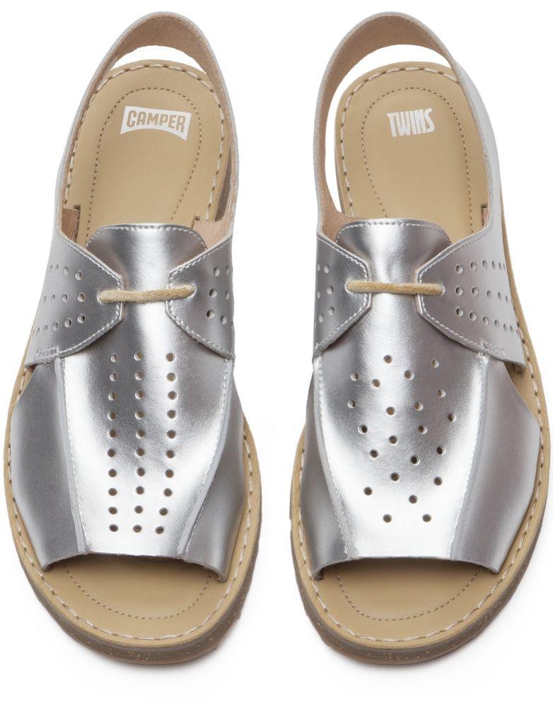 Camper Twins Grey Sandals Women K200381-002