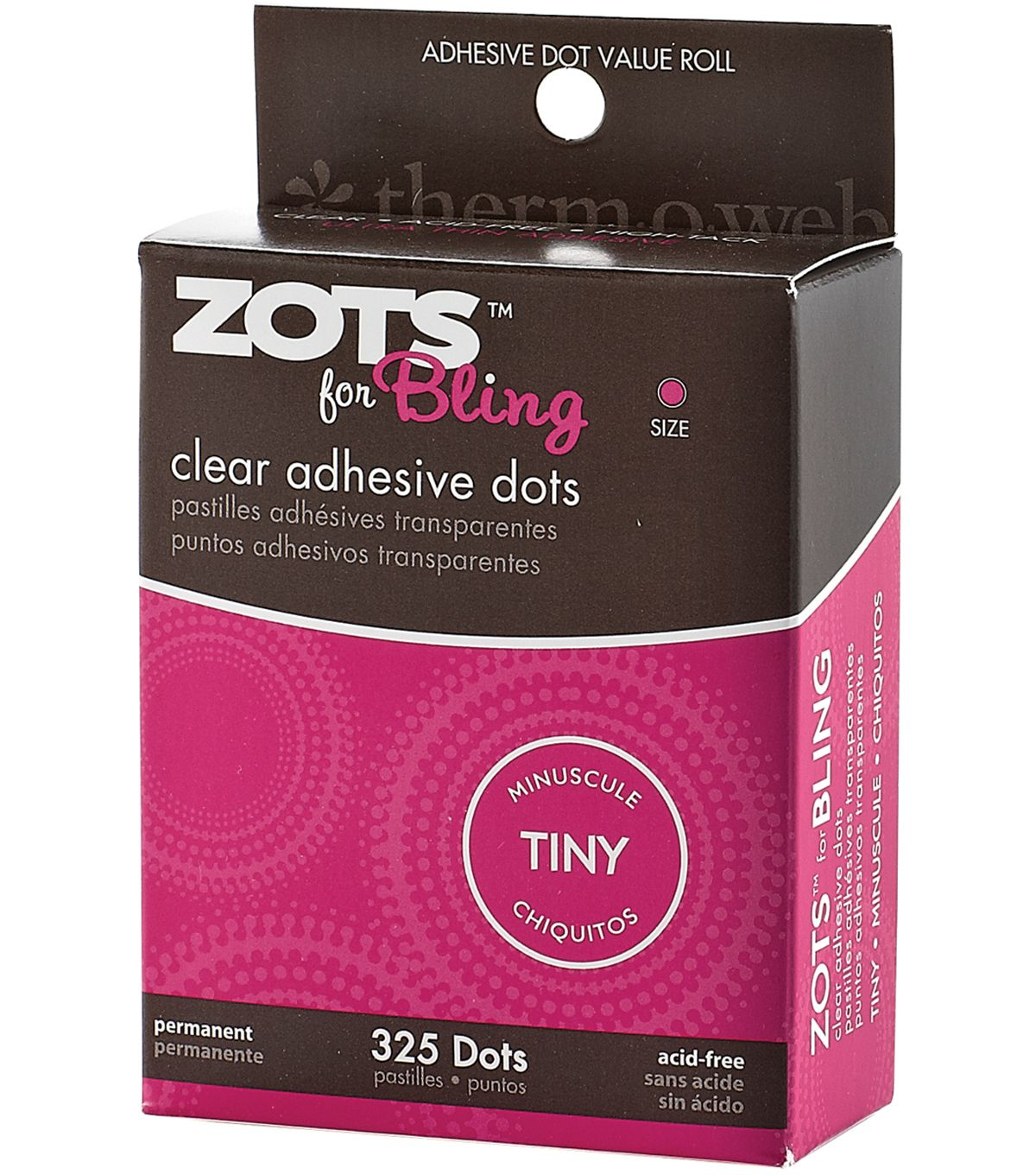 Zots For Tiny Bling Clear Adhesive Dots | Adhesive, Bling and ...
