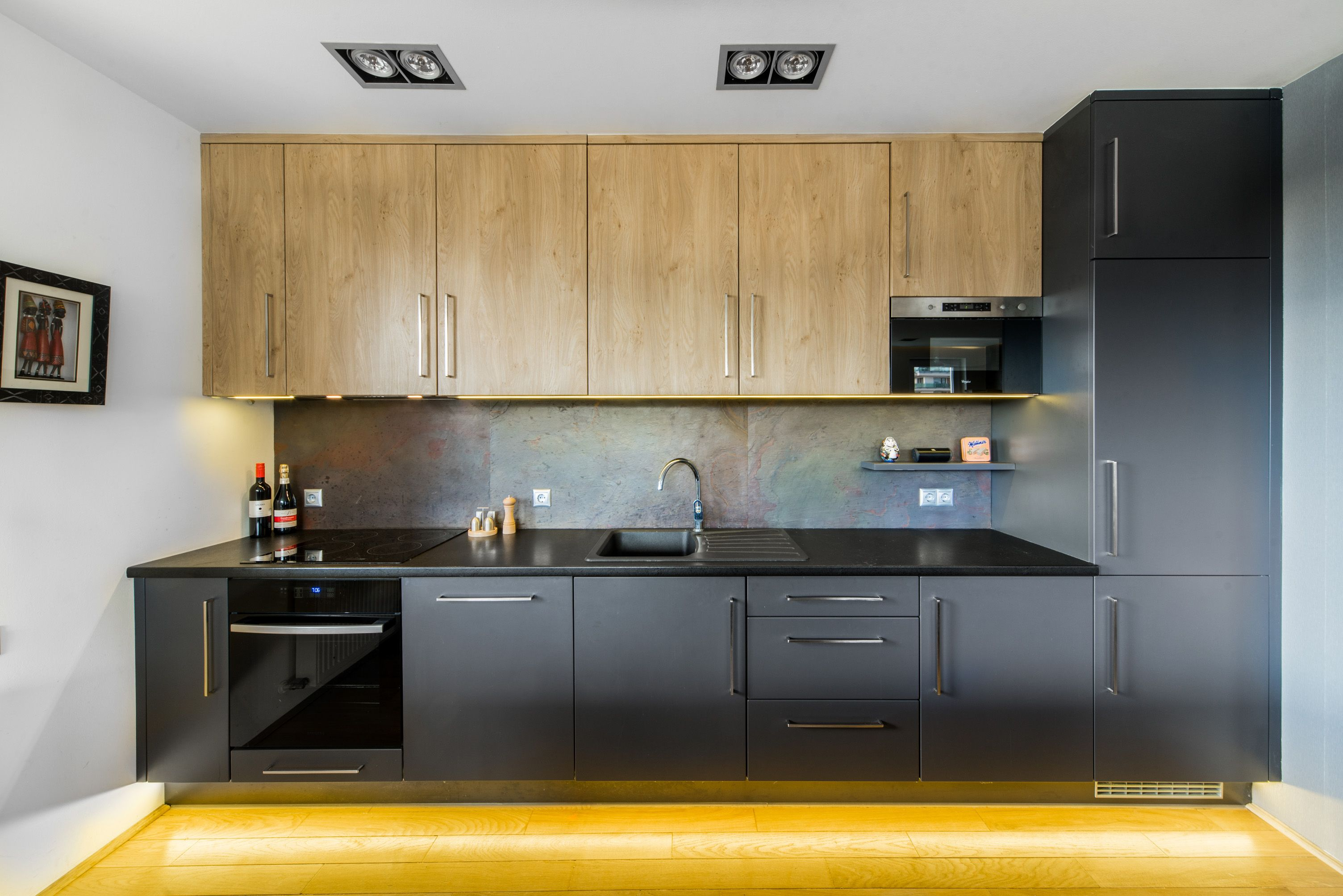 First Flat Interior Design In Budapest Hungary Kitchen Pleasing Kitchen Design For Flats Design Decoration
