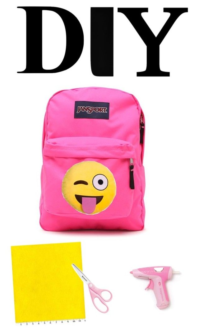 "Shiv Naresh Teens Boxing Gloves 12oz: ""DIY: Emoji Backpack"" By Abbyd2403 Liked On Polyvore"