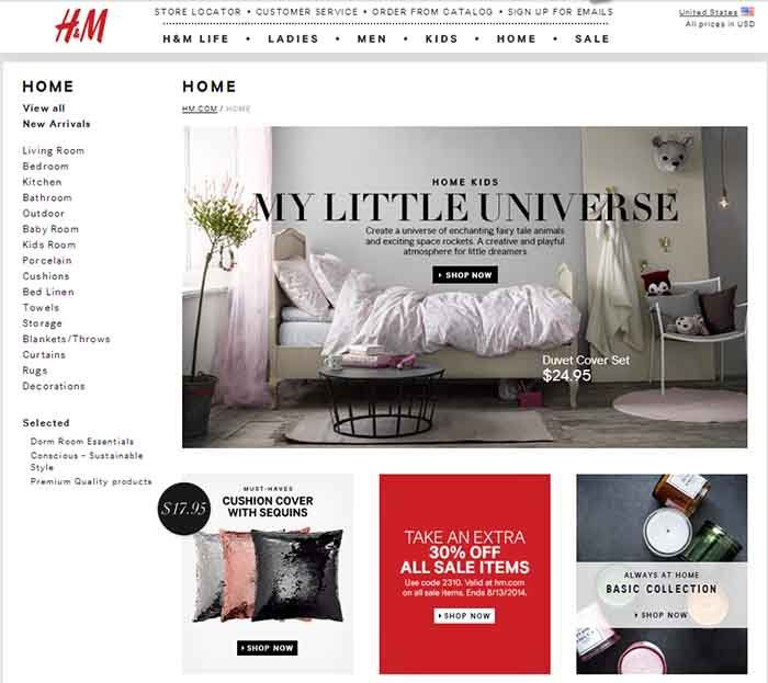 H M Home The Most Affordable Furniture And Home Decor Websites Ever Furniture Shopping