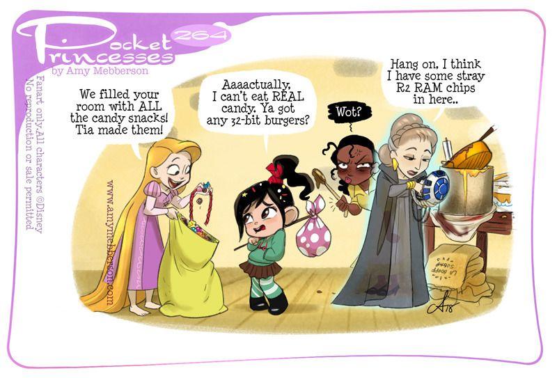 Pocket princesses 264 snack stash please reblog dont