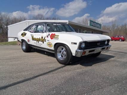1968 Chevy Ii Nova Grumpys Toy V Tribute Punched 454 4bbl Bbc Built Th400 4 11 12bolt Spool Chevy Muscle Cars Old School Cars Drag Racing Cars