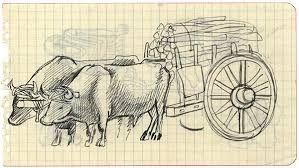 Resultado De Imagen Para Carretas De Bueyes Art Moose Art Humanoid Sketch