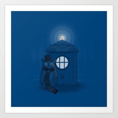 Dr Who Who? Art Print by John Tibbott - $17.95