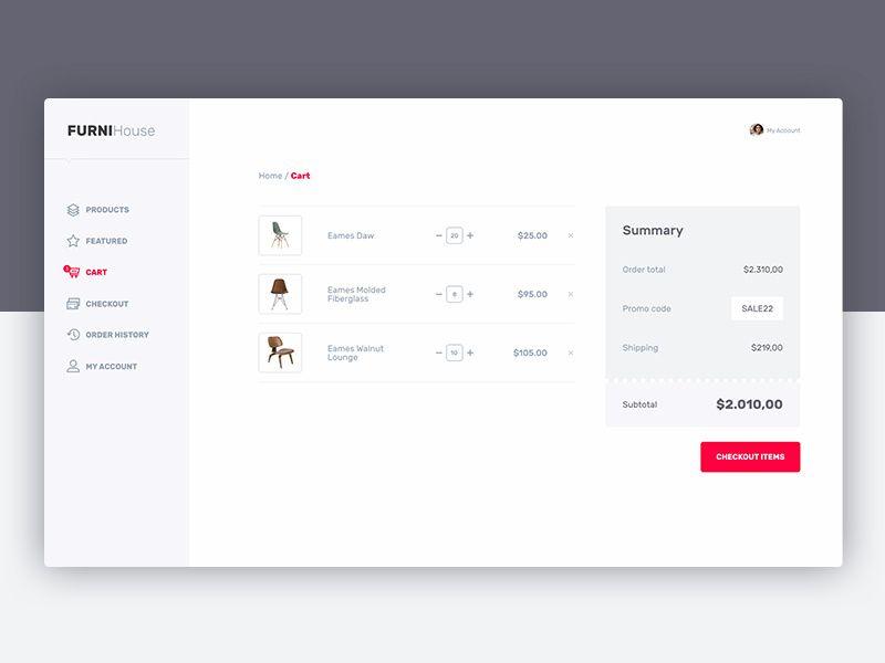 Ecommerce Cart Ecommerce Web Design Online Store Web Design Web Layout Design