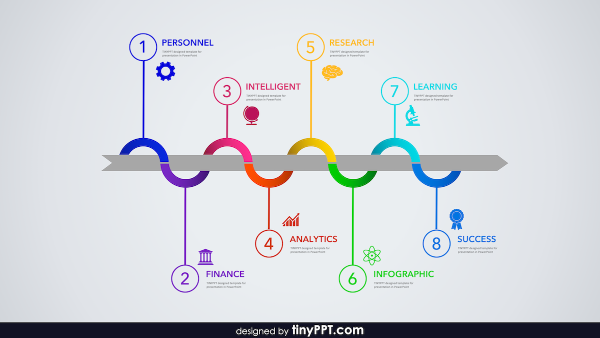 free powerpoint timeline templates infographic presentations