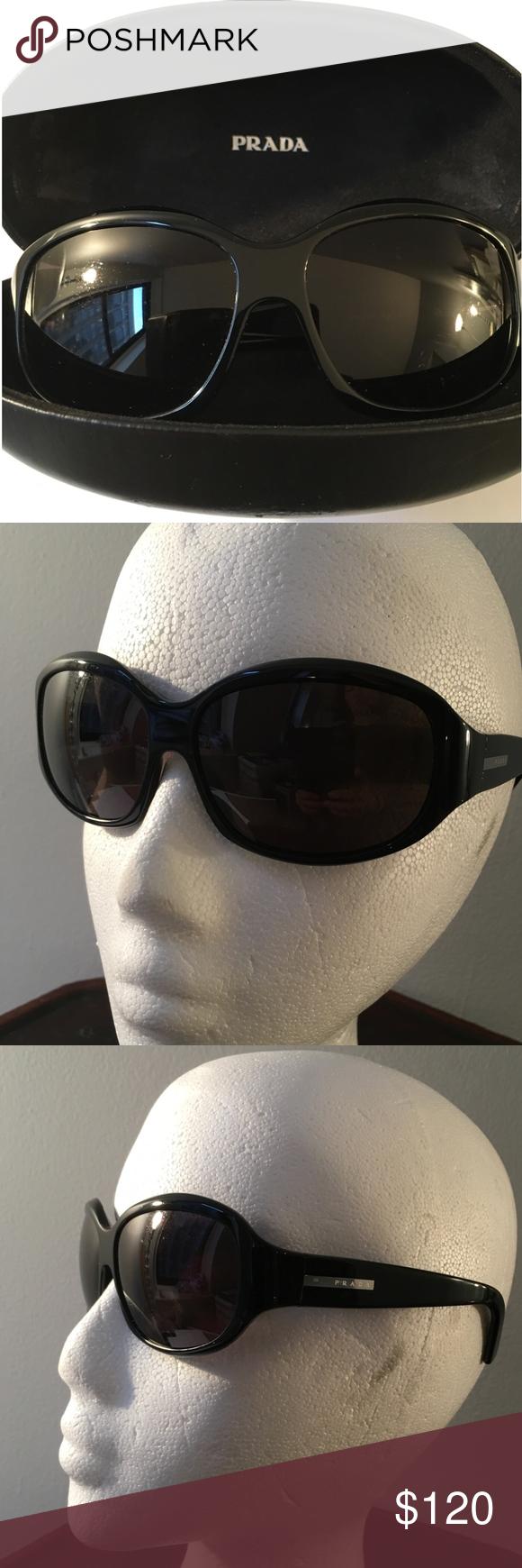 d24576997b1 PRADA Sunglasses Jett Black Prada Sunglasses with it s case. Made in Italy. Prada  Accessories Sunglasses
