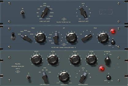 Pultec Passive Eq Collection Uad Audio Plugins Universal Audio Audio Music Mixing Plugins