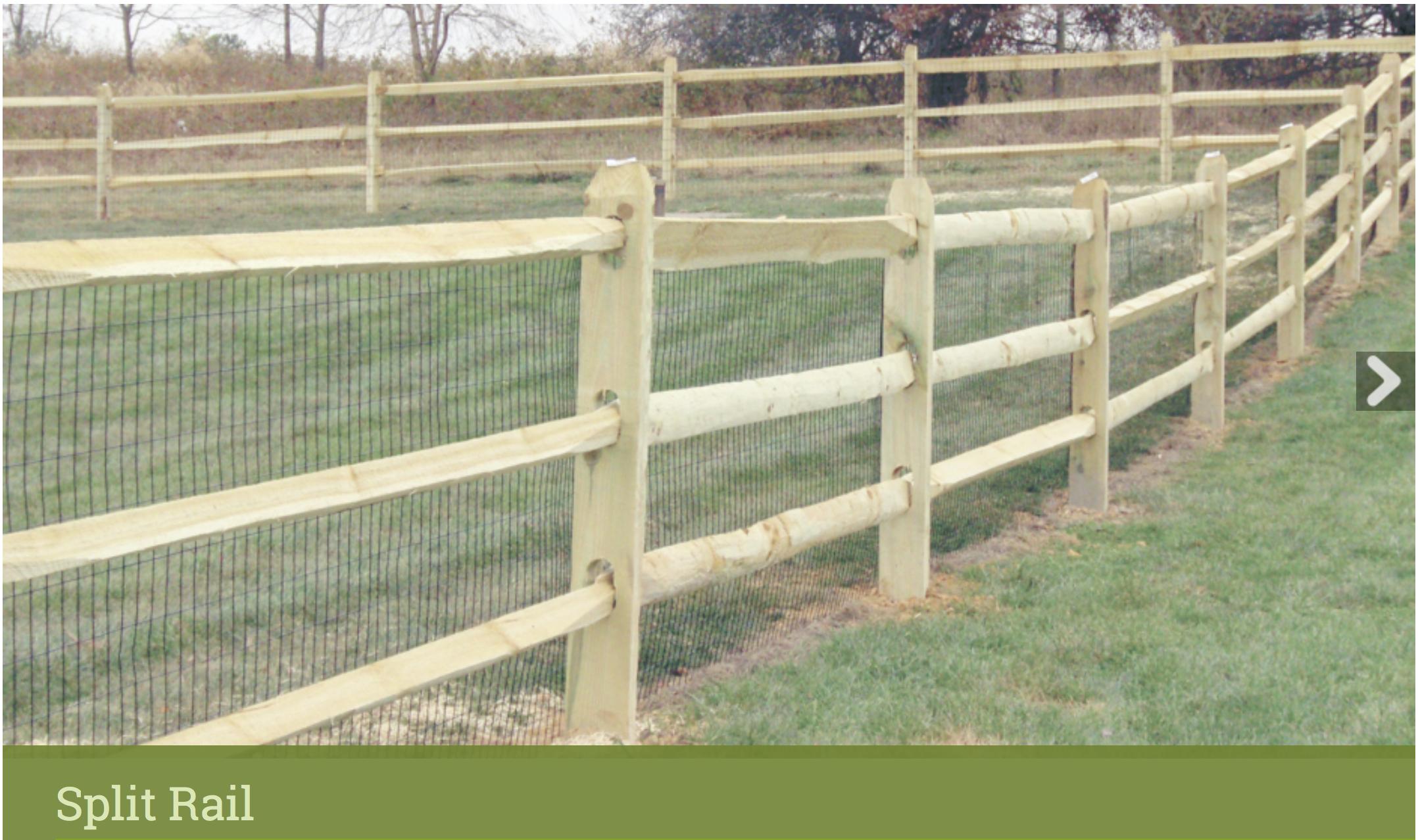 Https Www Longfence Com Residential Fence Wood Split Rail Split Rail Fence Outdoor Structures