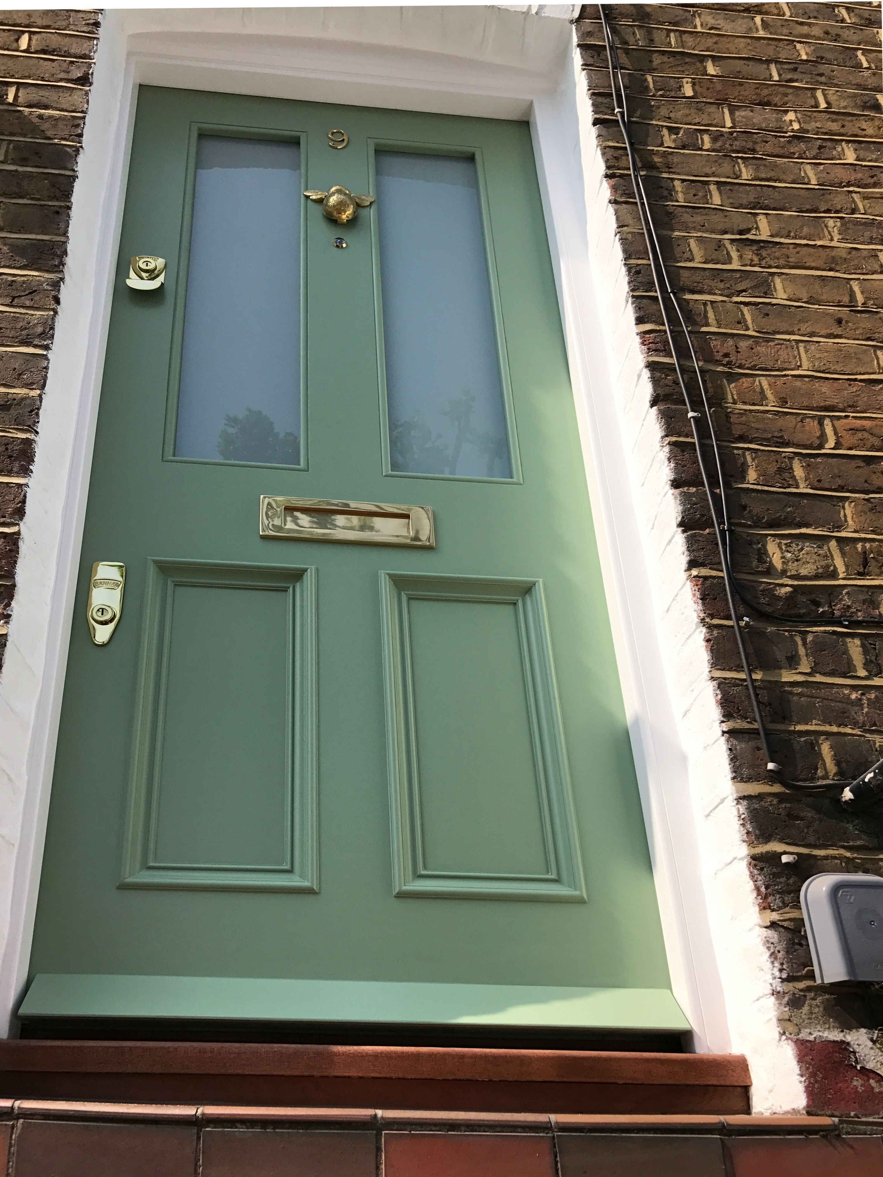 Pale Green Victorian front door in London #victorianfrontdoors Pale Green Victorian front door in London #victorianfrontdoors Pale Green Victorian front door in London #victorianfrontdoors Pale Green Victorian front door in London #victorianfrontdoors