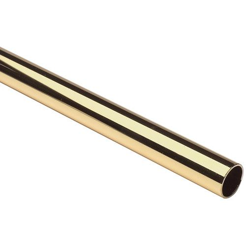 Lido Heavy Duty Closet 6 Ft Rod Brass Finish Hotel Supplies Clothes Hanger Ebay With Images Closet Rod Polished Brass Brass Finish