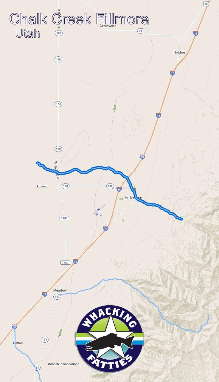 Chalk Creek Fillmore Fishing Report Utah Fishing Reports