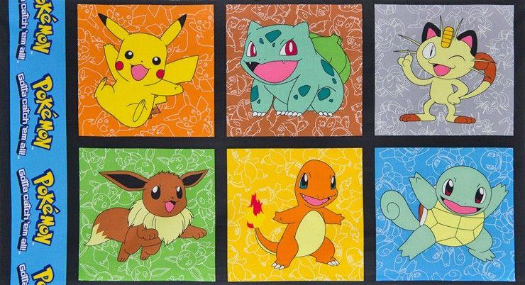 Panel de tela de Pokemon Pikachu