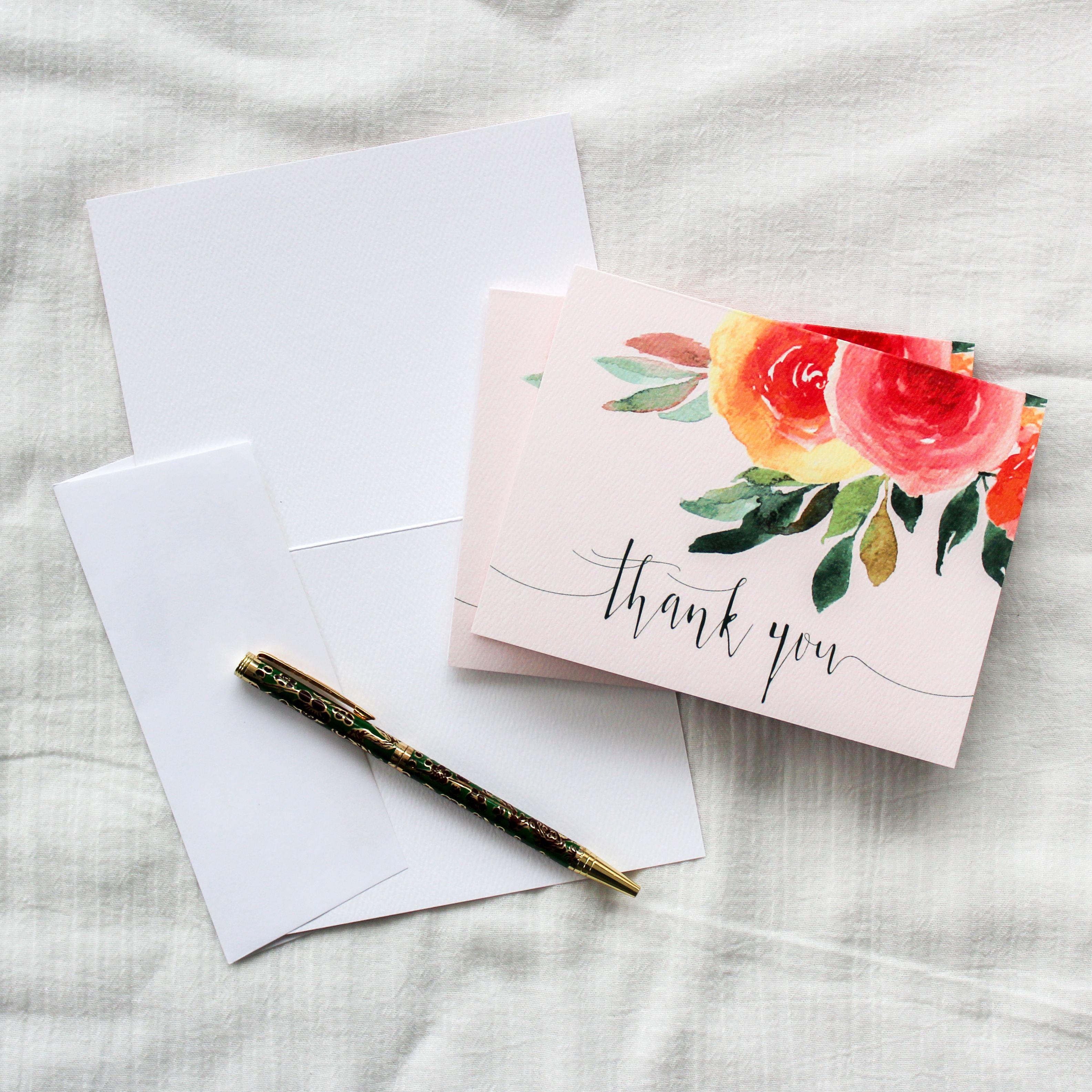 Felt Cardstock Fl Greeting Cards