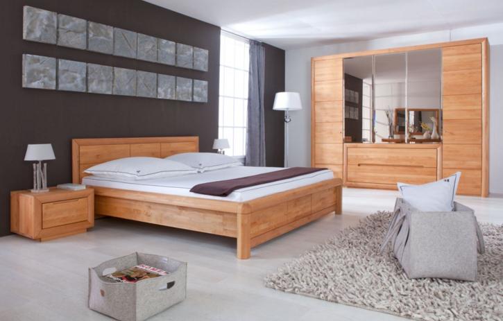 Komplettes schlafzimmer vollständige Dekoration im