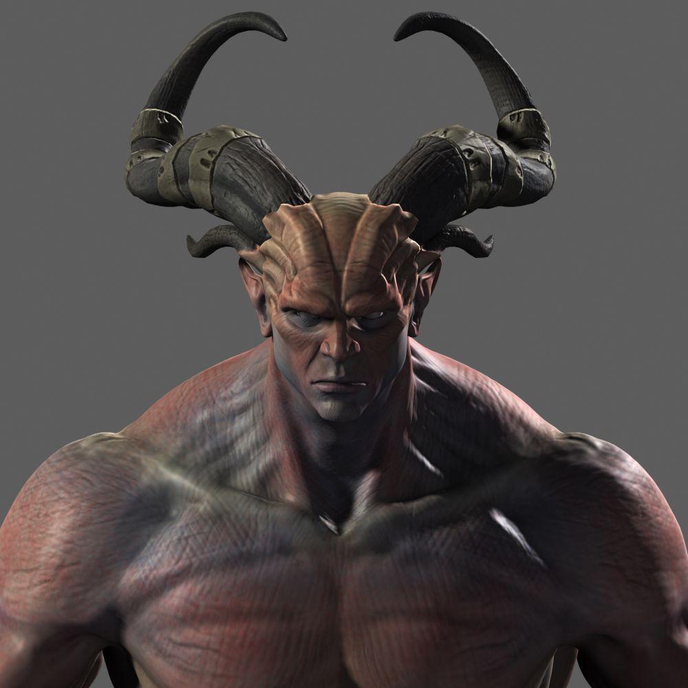 Dragon Age II Qunari Zbrush 3DS Max Photoshop | Qunari ...