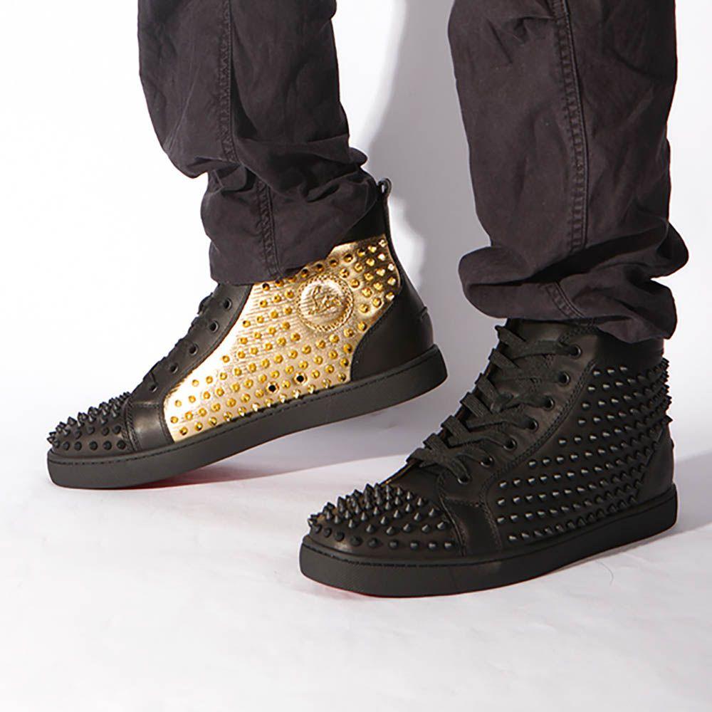 Black sneakers, Christian louboutin