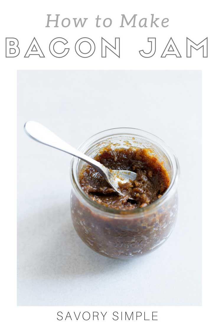 Bacon Jam   Recipe   Bacon jam, Bacon egg and Bacon
