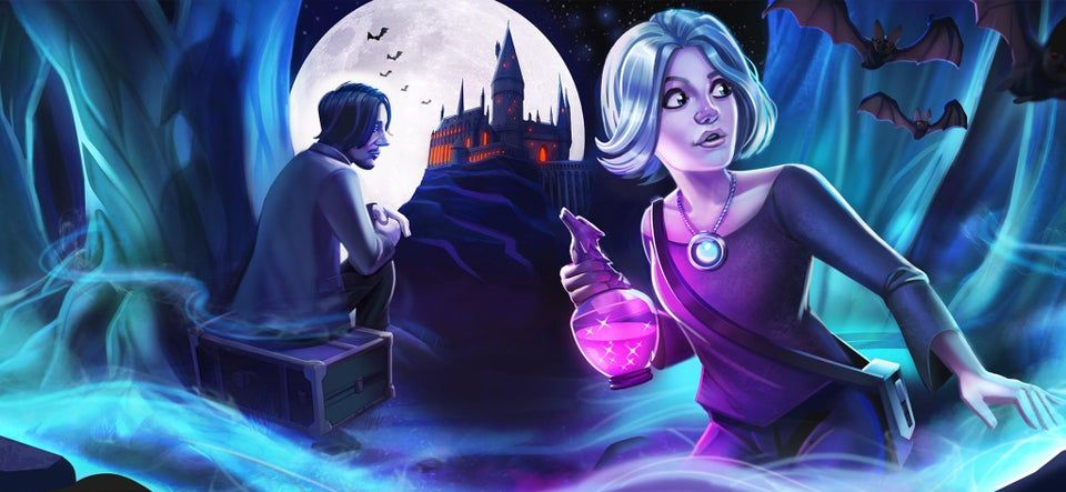 New Chiara Loading Screen Without The Logos Save It To Use As A Wallpaper All Month Long Happy Halloween Hp Hogwarts Mystery Hogwarts Harry Potter Hogwarts