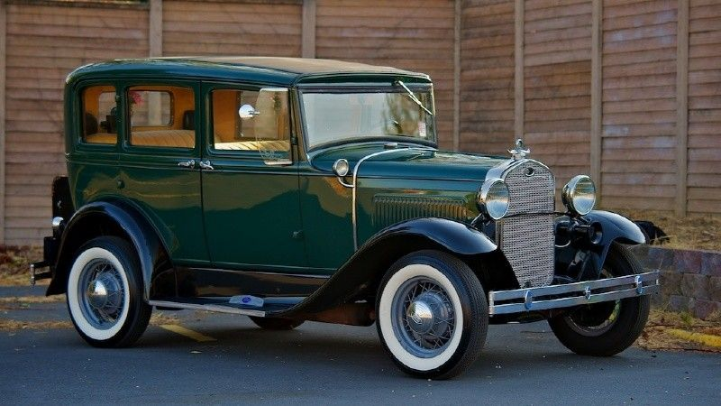 1931 Ford 1931 (160A) SLANT WINDOW 4 DOOR Maintenance