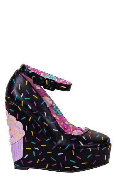 iron fist clothing bakers dozen wedge with cute multicolored