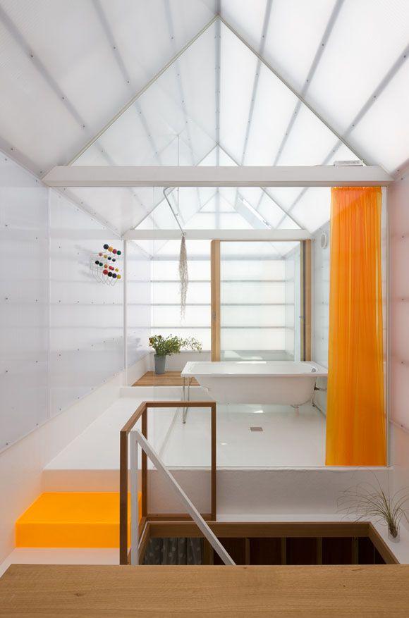 house in a house. House In Yamasaki Yo Shimada Of Tato Architects A