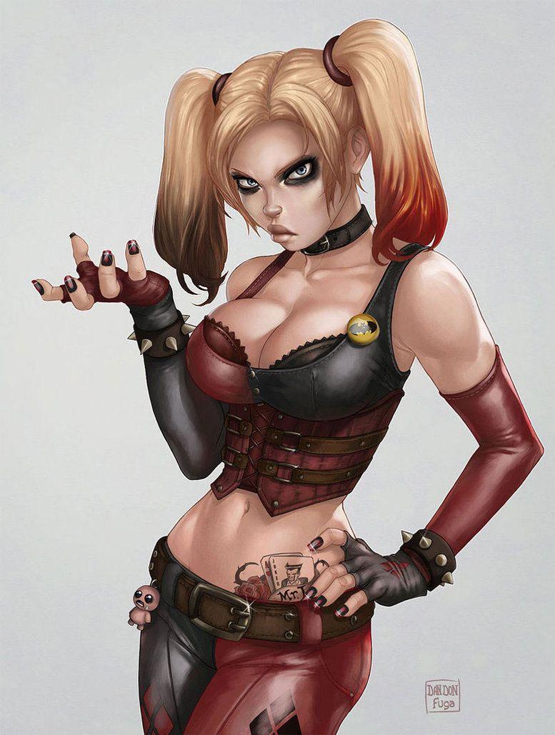 Quinn City Harley Arkham DC Comics:
