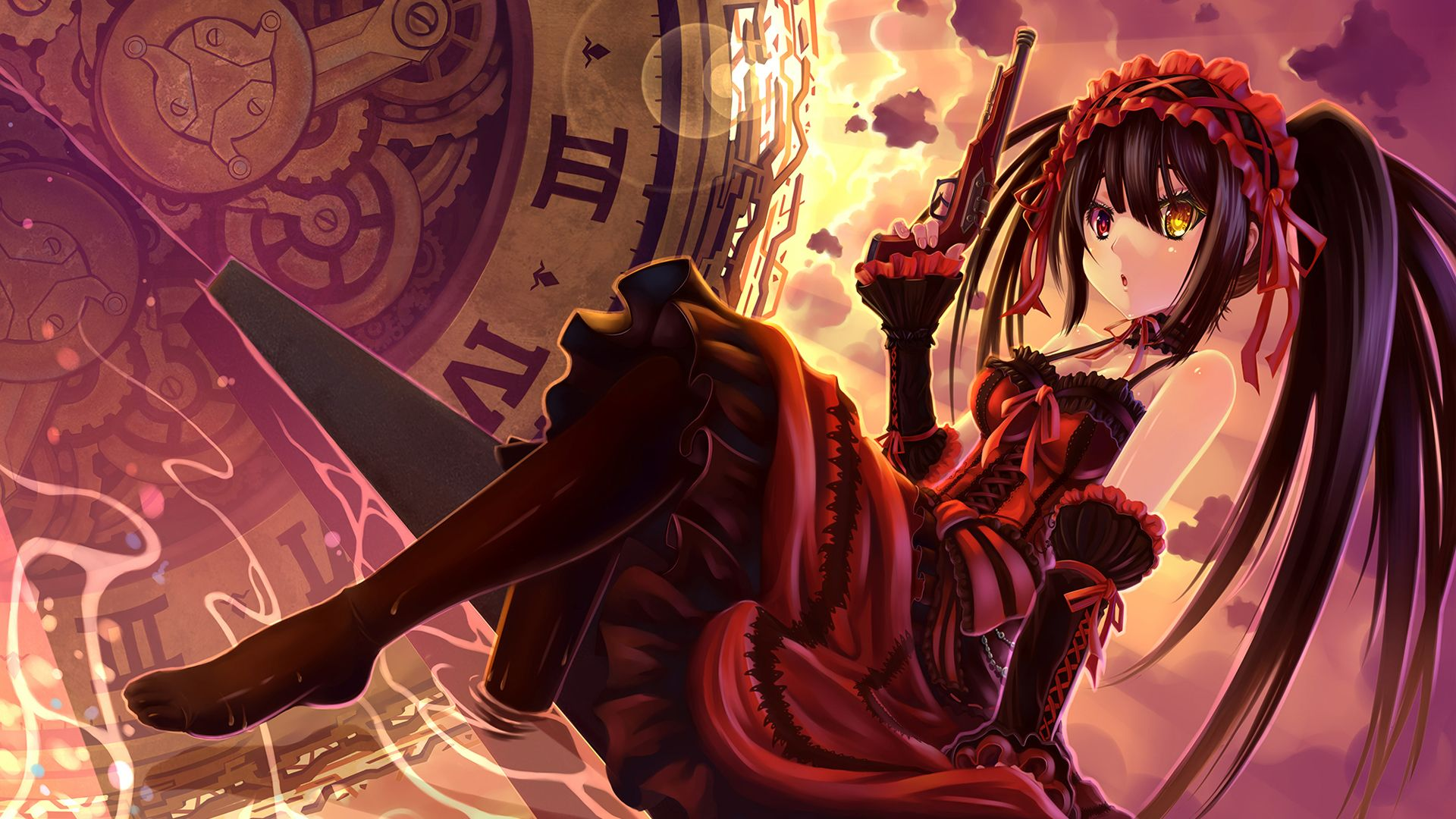 Kurumi Hd Wallpaper Pemandangan Anime Gambar Anime Gadis Animasi