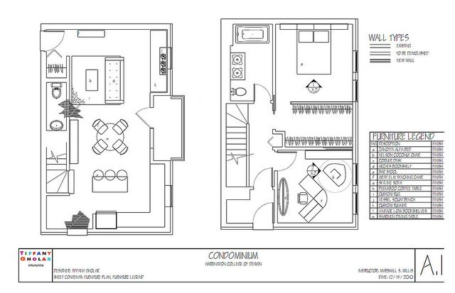 Condo Floorplan With Furniture Plan Condo Interior Condo Interior Design Interior Design Guide