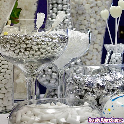 Gold Silver Candy Buffet Photo Gallery Candywarehouse Online