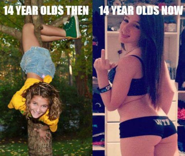 Top 25 Funny Pics Of The Week Izismile Com Then Vs Now 14 Year Old Meme Pictures