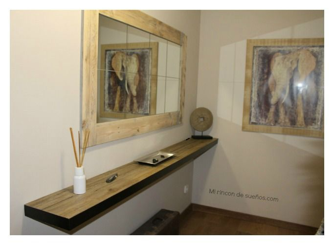 Un recibidor como nuevo gracias a la madera de palets | Pinterest ...