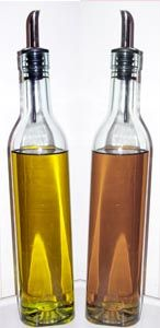 The magic of apple cider vinegar and olive oil.