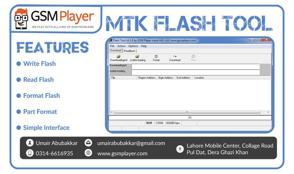 How to Flash any Featured MTK Mobile via MTK Flash Tool