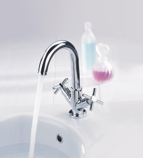 Xia basin mixer tap by Francis Pegler. Buy online at www ...